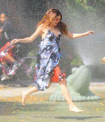 Selena Gomez Water