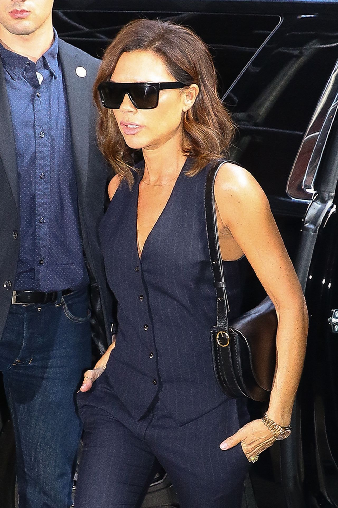 Victoria Beckham Leaving Her Hotel In New York City 06