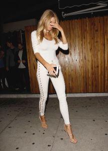 Charlotte Mckinney Night Style - Leaving Nice Guy