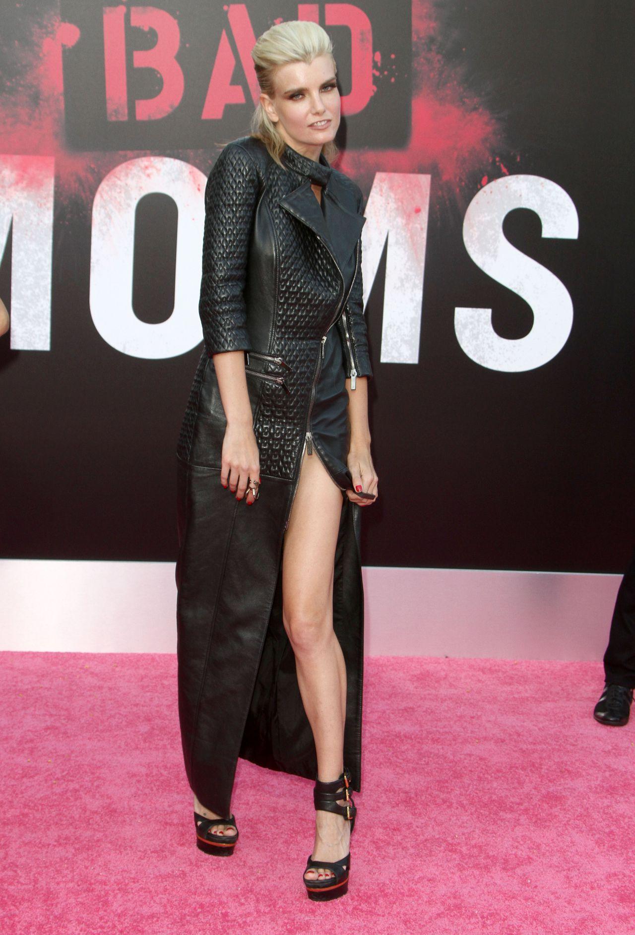Eugenia Kuzmina  Bad Moms Premiere in Los Angeles