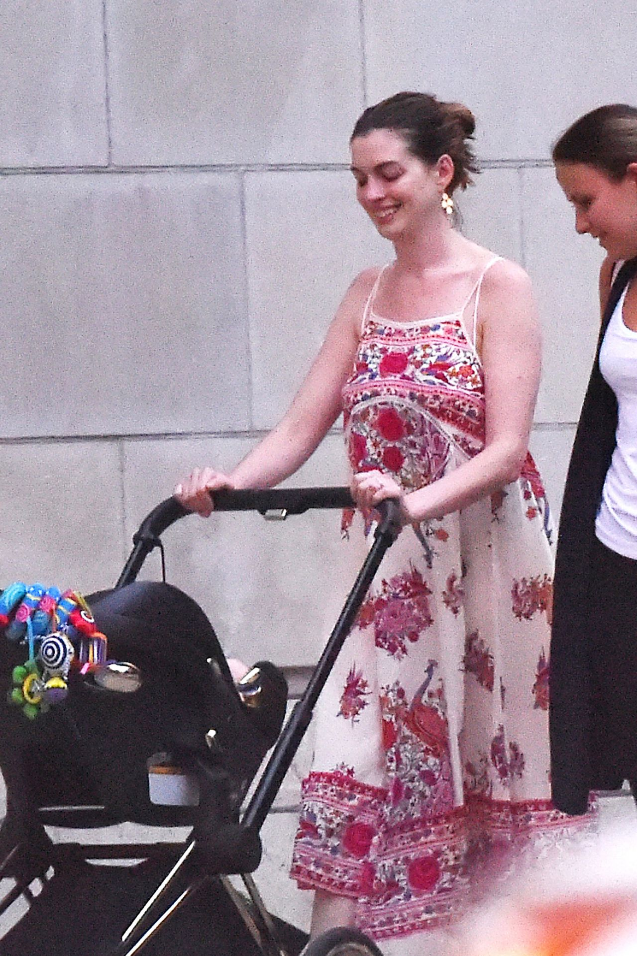 Anne Hathaway  Out With Husband  New Baby Boy  NYC 816