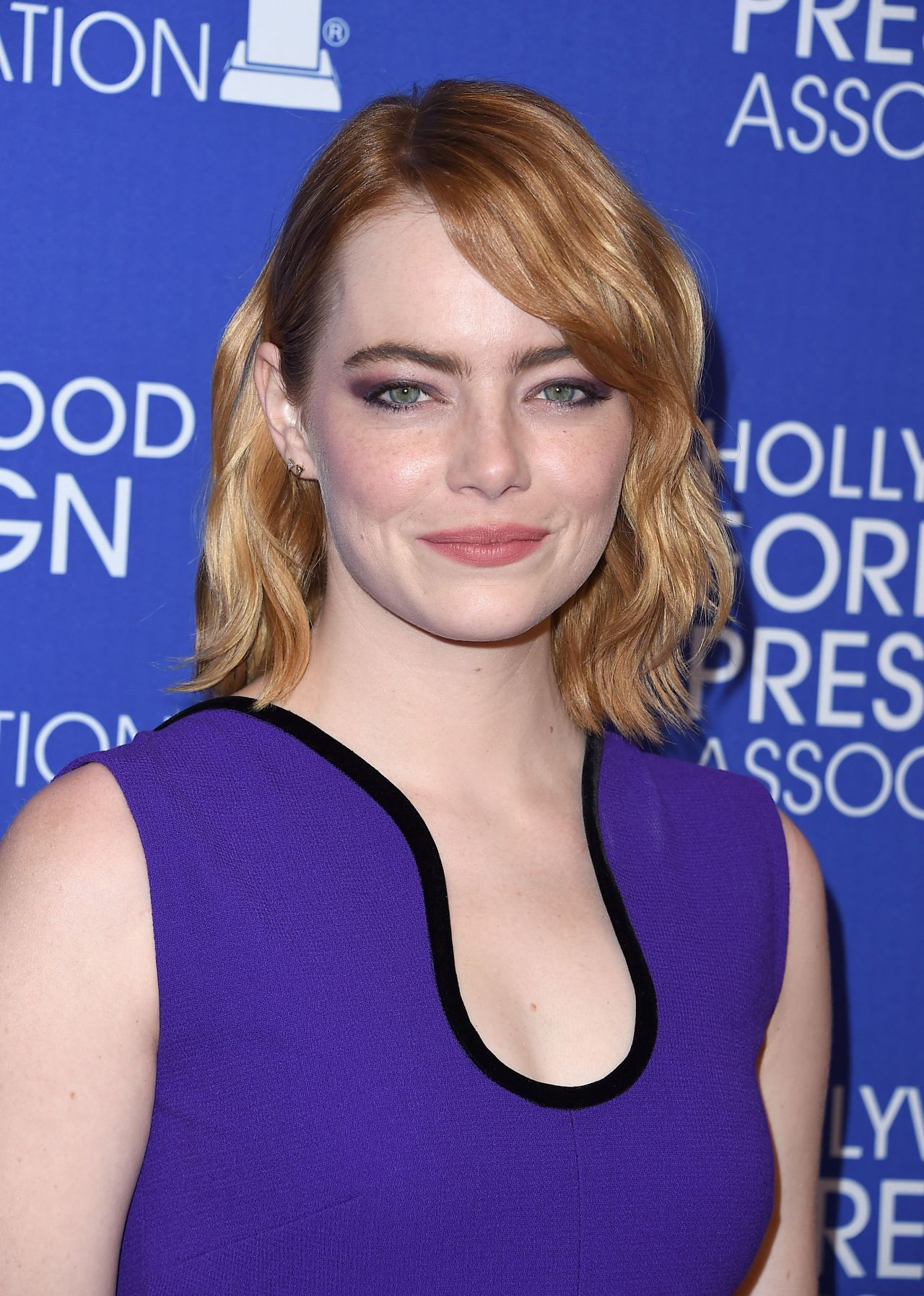 Emma Stone Hollywood Foreign Press Associations Grants