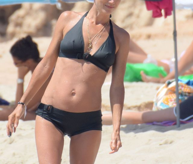 Jennifer Connelly Bikini Candids Formentera