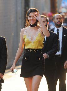 Kendall Jenner - Leaving Jimmy Kimmel Live In Los Angeles