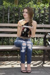 Laura Marano - Taking A Break During A Press Day in New York City 8/25/2016