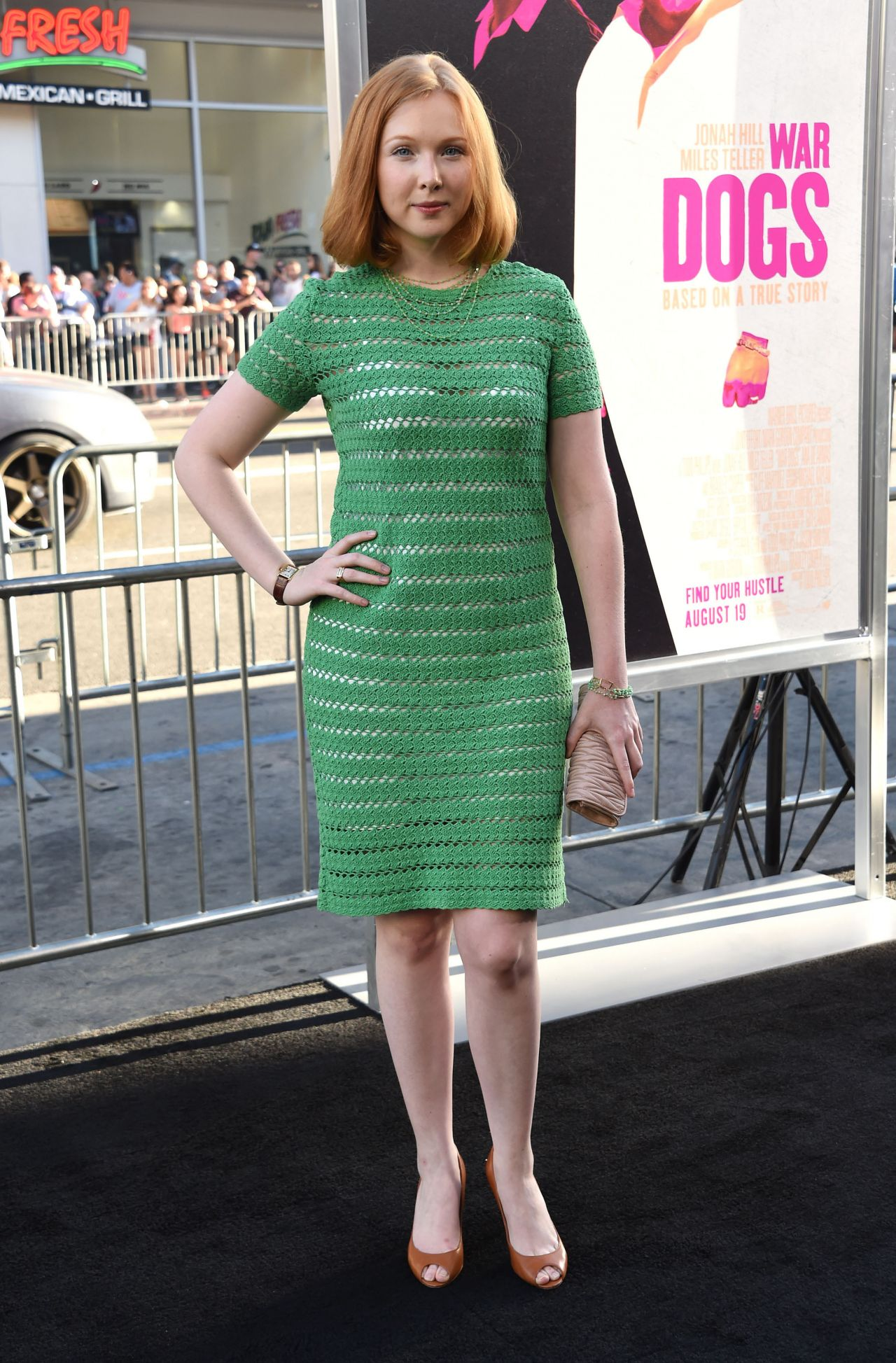 Molly Quinn  Warner Bros Pictures War Dogs Premiere in Hollywood