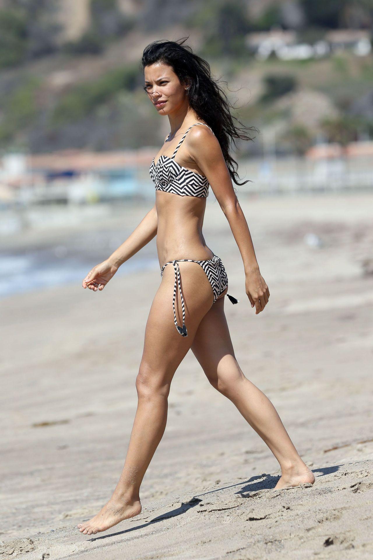 Danay Garcia in Bikini at a Beach in Santa Monica CA 915