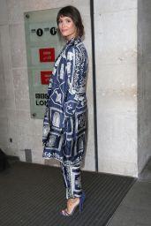 Gemma Arterton Chic Style - BBC Radio Studios in London 9/19/2016