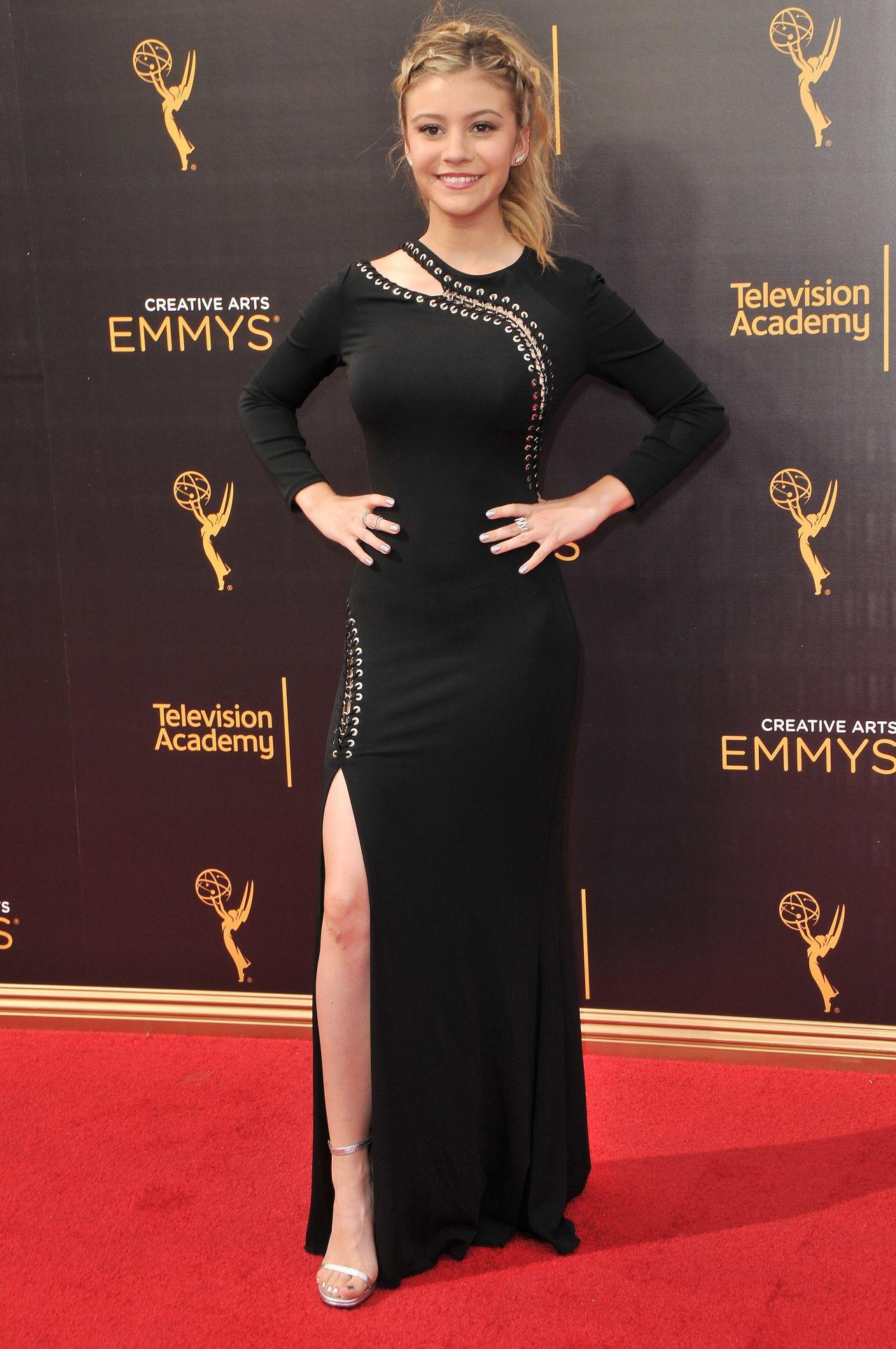 Genevieve Hannelius Creative Arts Emmys Awards In Los