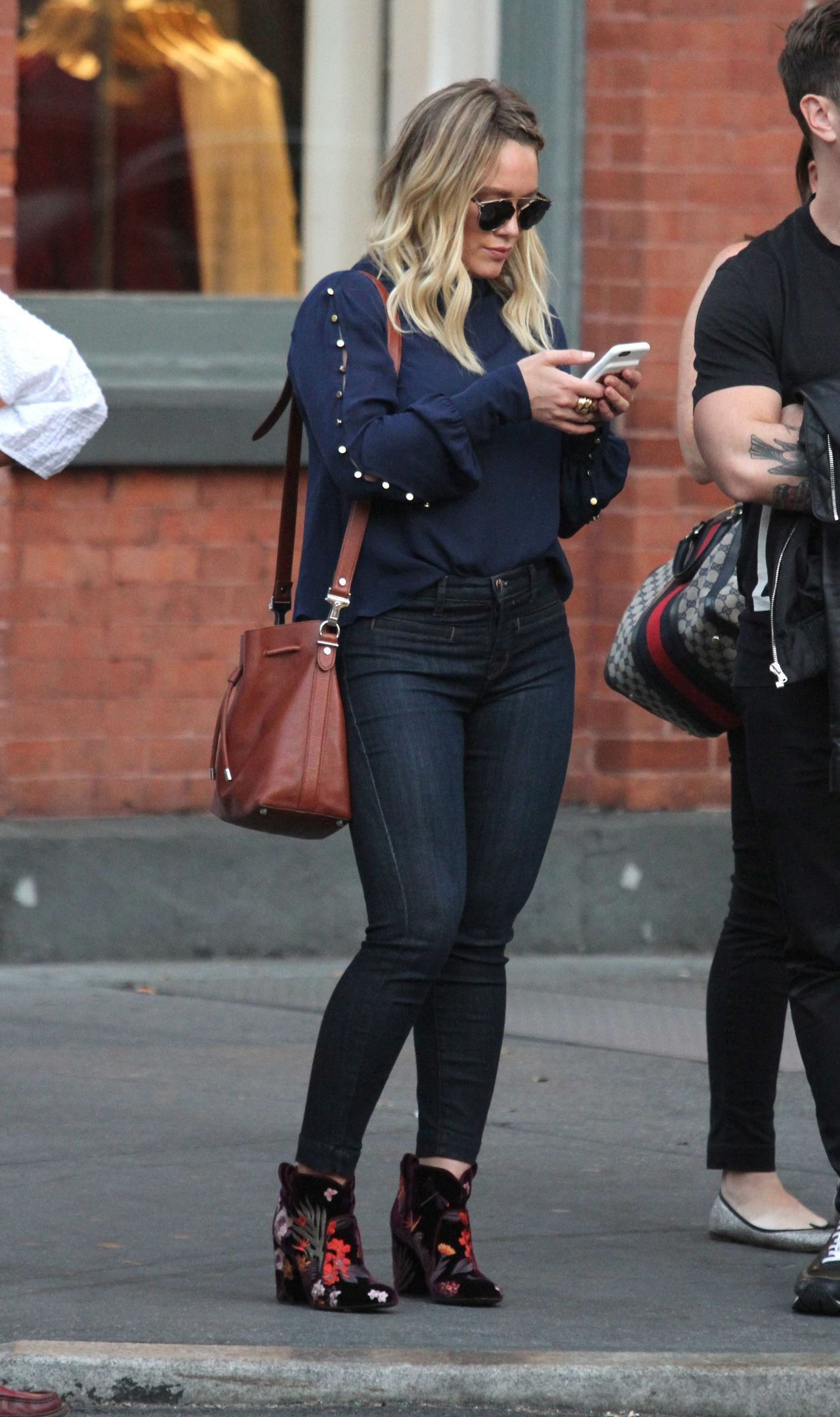 Hilary Duff  Out in New York City 09152016