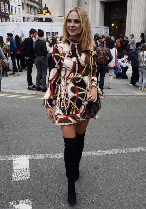 Kimberley Garner - David Ferreira Catwalk Show - London Fashion Week 9/20/2016