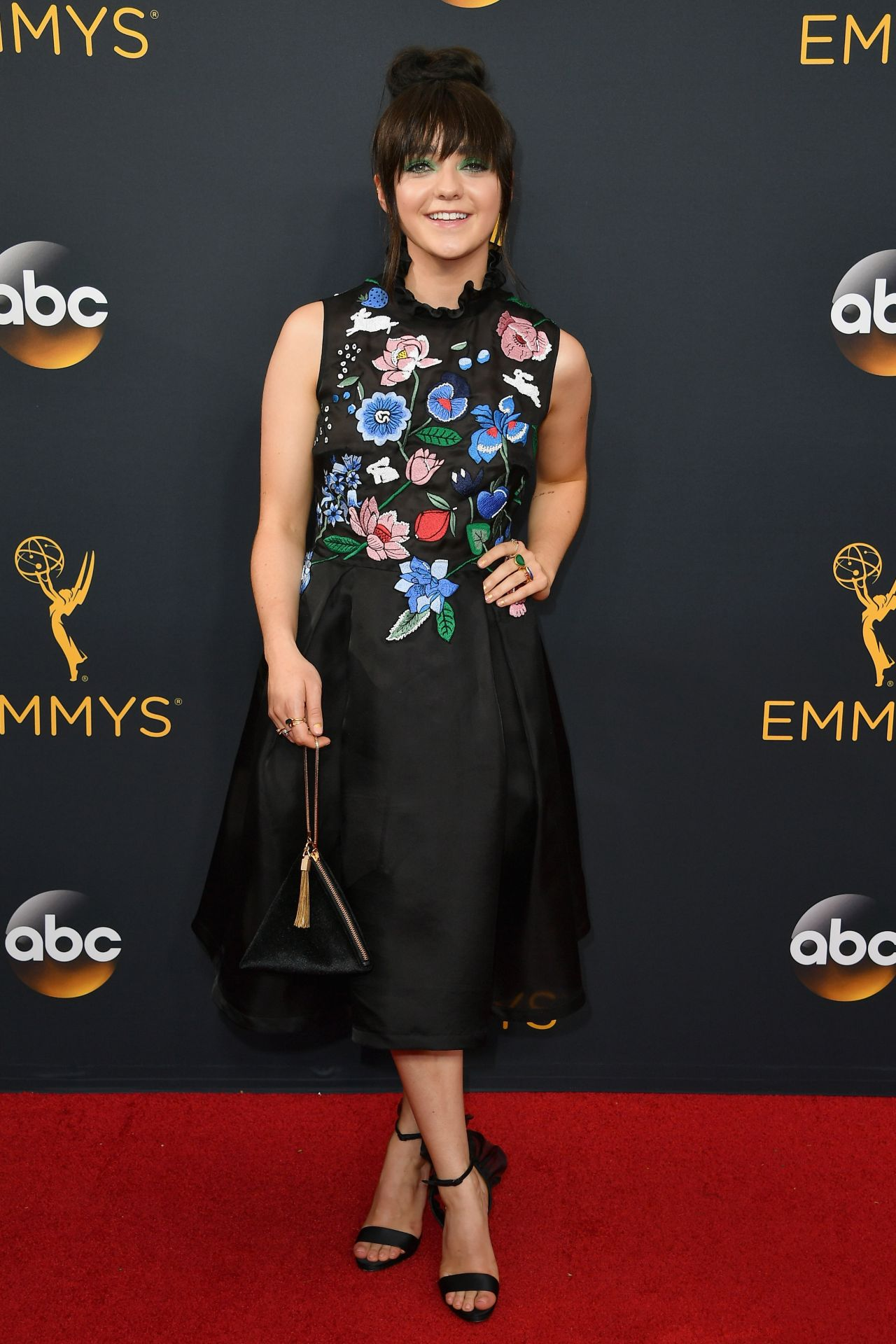 Maisie Williams 68th Annual Emmy Awards In Los Angeles