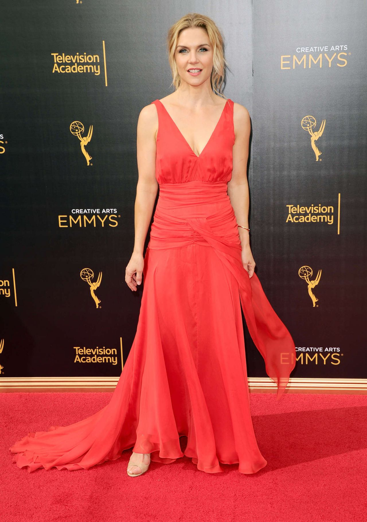 Rhea Seehorn  Creative Arts Emmy Awards 2016 in Los Angeles
