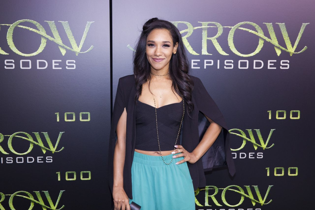 Candice Patton  Celebration of 100th Episode of Arrow in