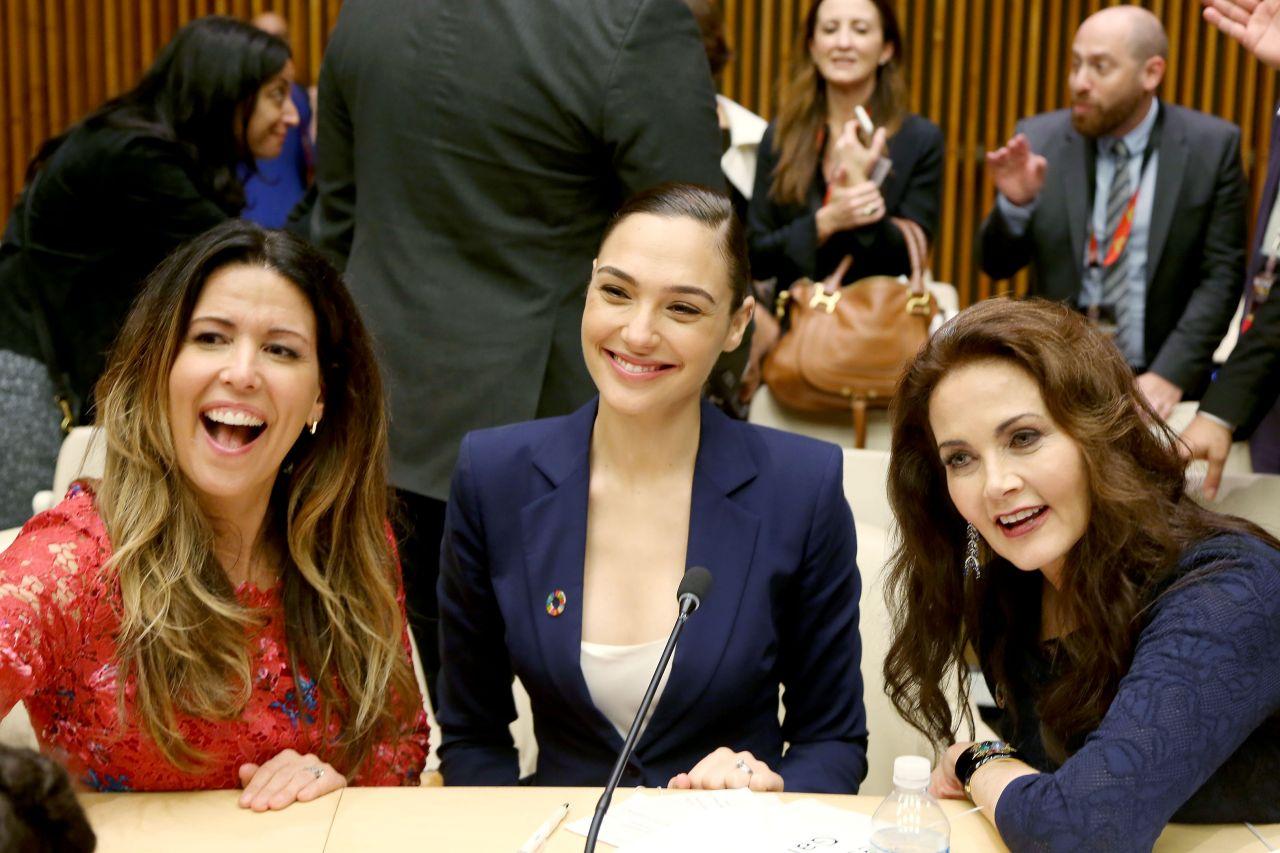 Gal Gadot  Wonder Woman United Nations Ambassador Ceremony In Nyc  10212016-2243