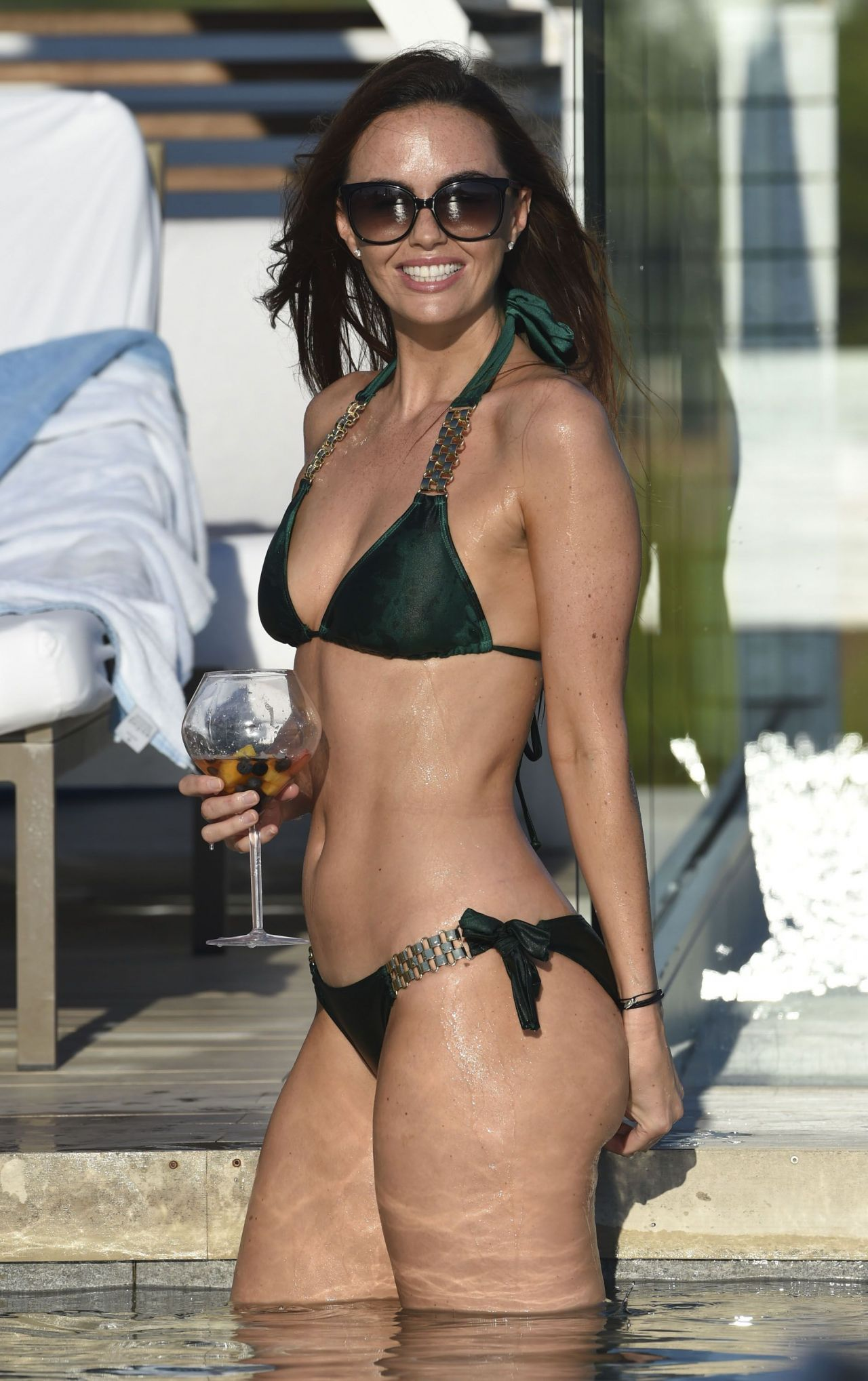 Jennifer Metcalfe Chills by the Pool at the ME Hotel in