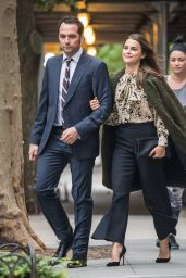 Keri Russell - Arriving at the Frank Stanton Award Luncheon in NYC 9/29/2016