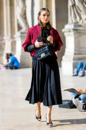 Olivia Culpo is Looking All Stylish - Out in Paris 10/7/2016