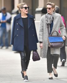 Olivia Palermo With Mother Lynn Hutchings In York