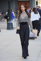Victoria Justice Style and Fashion Inspirations - Out and About in New York City 10/118/2016