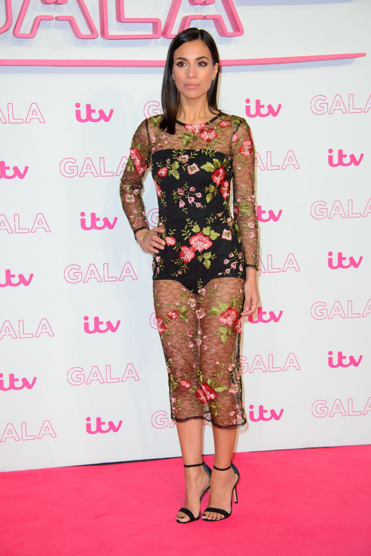 Fiona Wade  ITV Gala 2016 in London Palladium Theatre