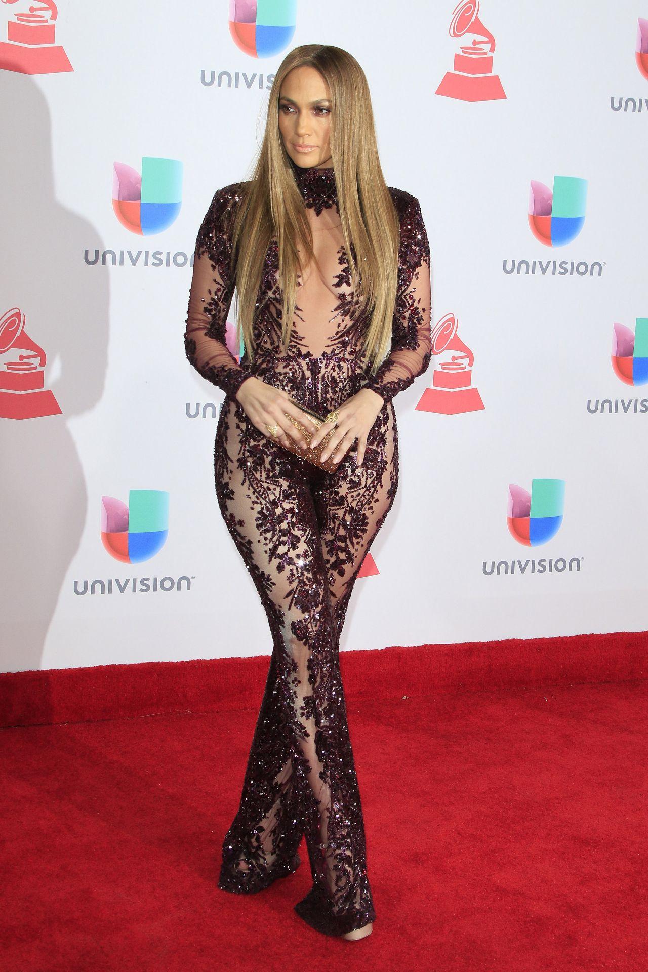 Jennifer Lopez  Latin Grammy Awards 2016 at TMobile Arena in Las Vegas