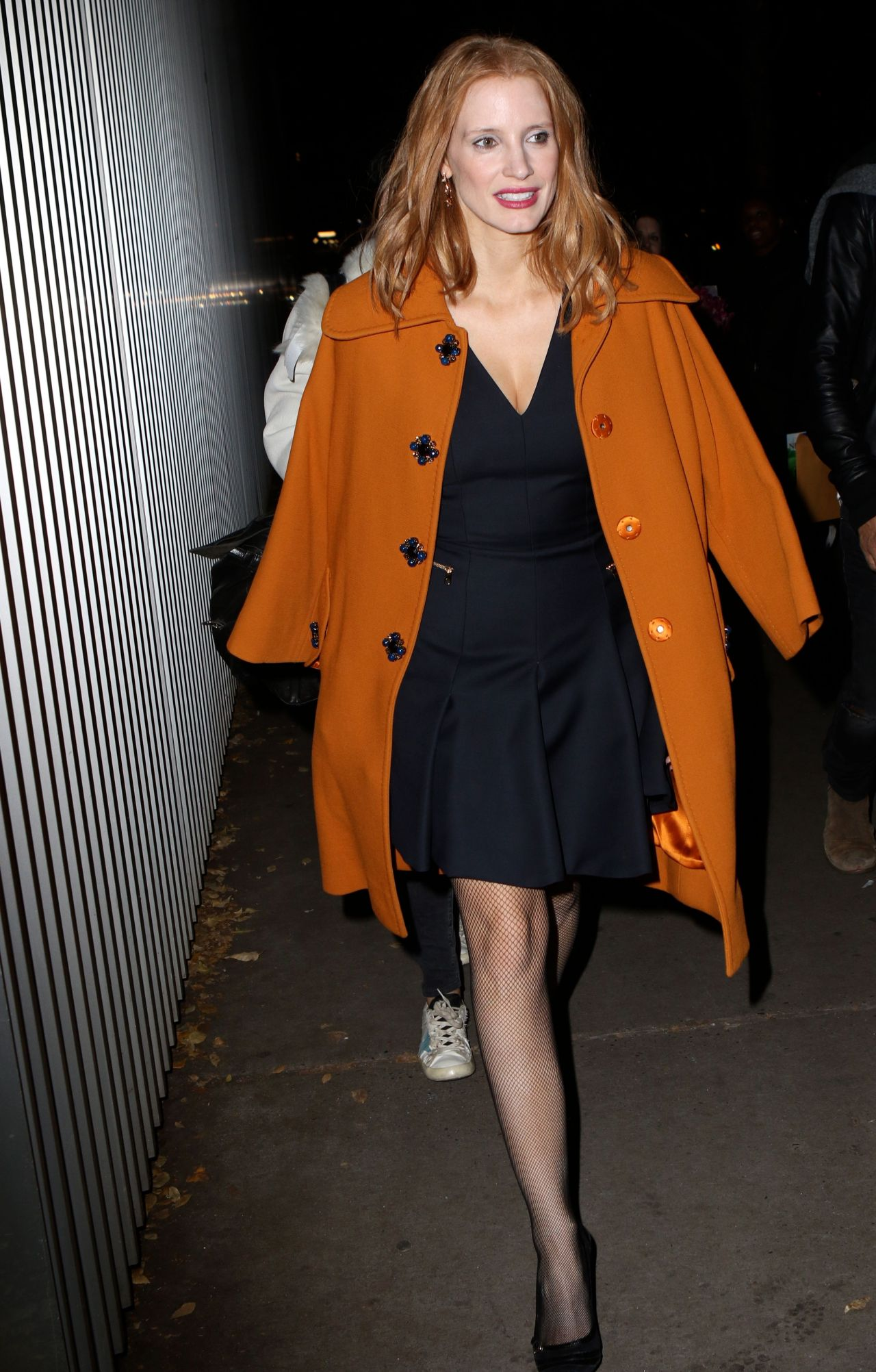 Jessica Chastain at Miss Sloane Screening at The Moma in