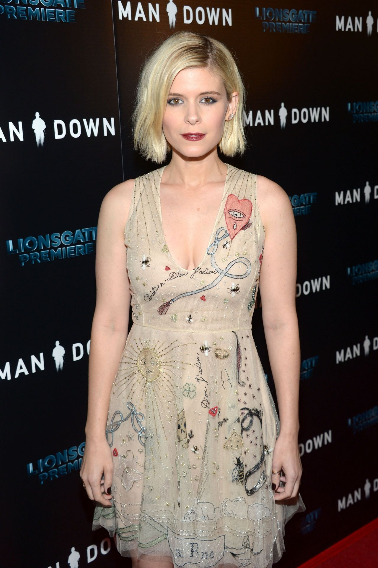 Kate Mara  Man Down Premiere at ArcLight Hollywood in Los Angeles