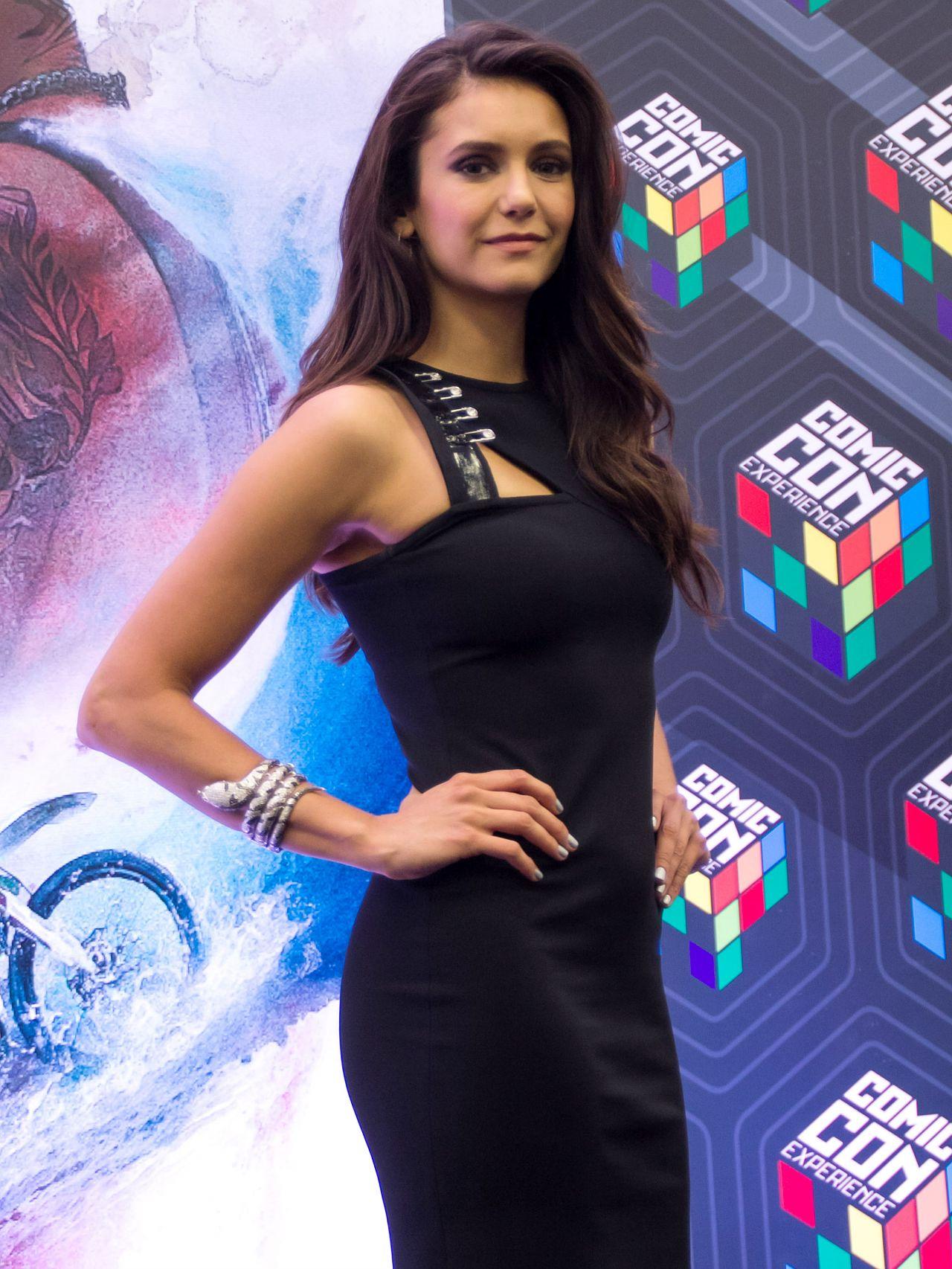 Nina Dobrev At Comic Con In So Paulo For XXx Return Of