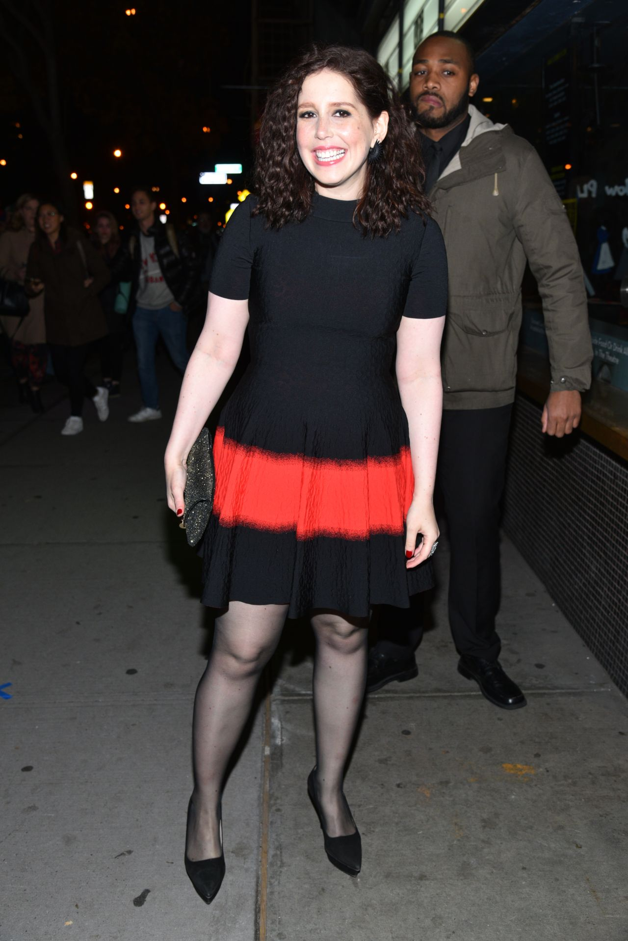 Vanessa Bayer  Office Christmas Party Screening in NYC