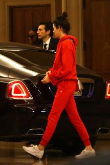 Kendall Jenner - Leaving Montage Hotel In Beverly