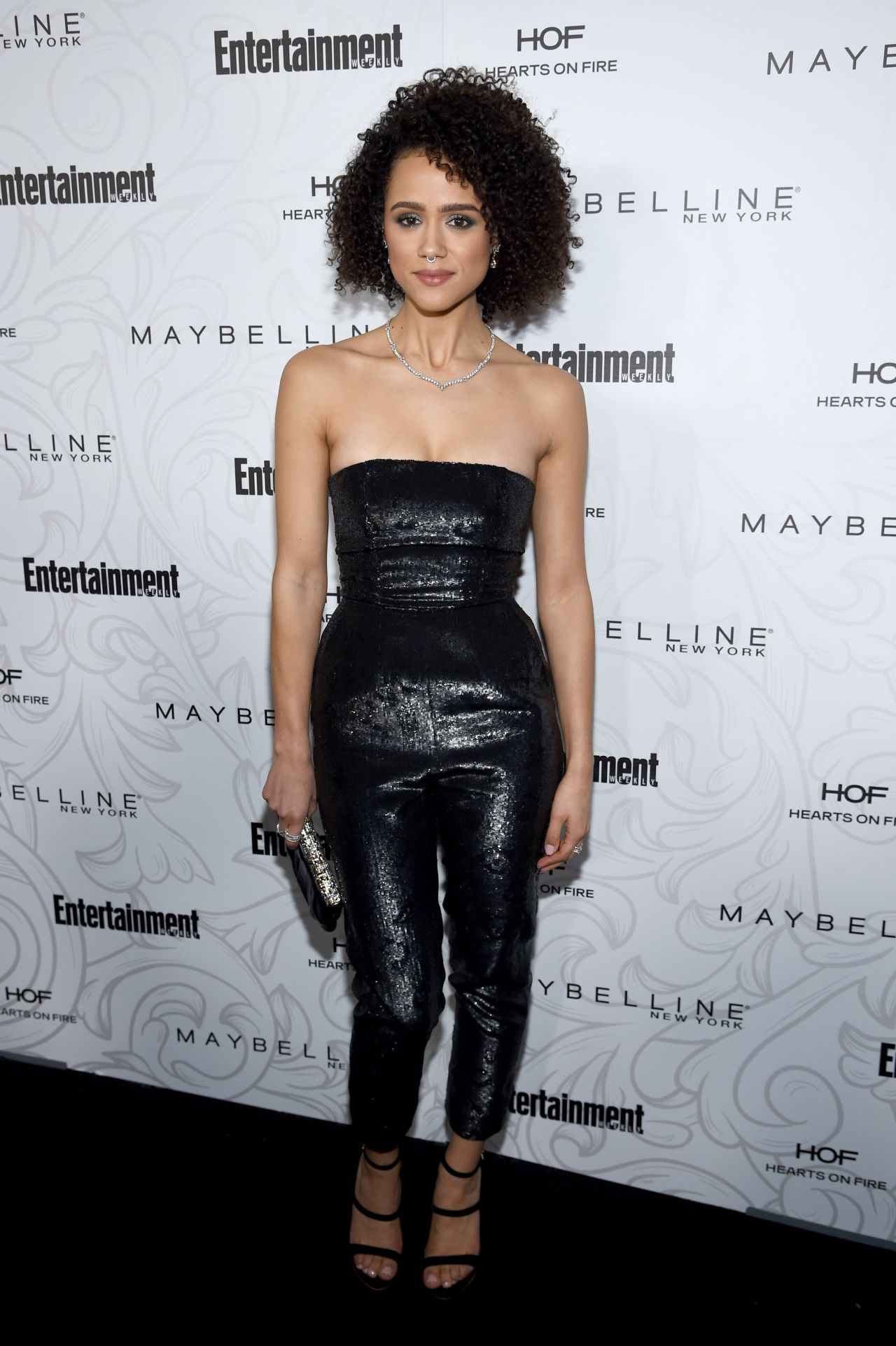 Nathalie Emmanuel EW Celebration Of SAG Award Nominees