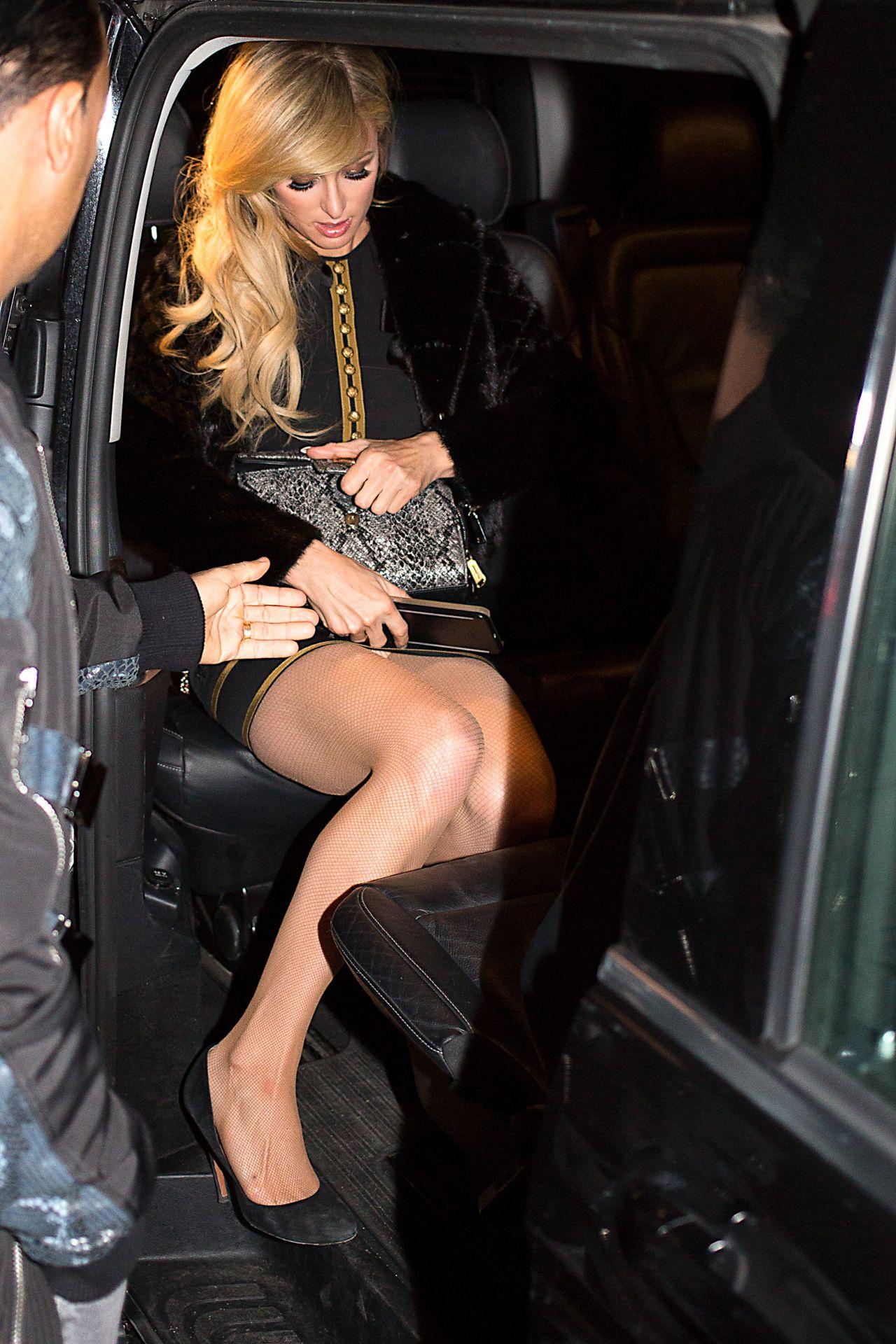 Paris Hilton at the Dsquared2 Show  Milan Mens Fashion