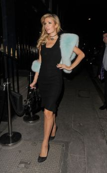 Paris Hilton - Leaving Mayfair Hotel In London 1 26 2017