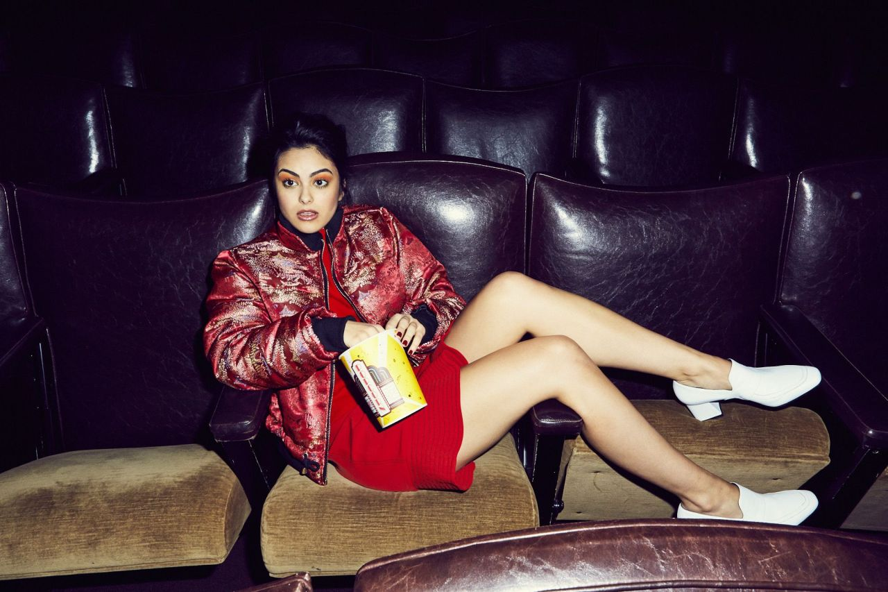 New York Fall Wallpaper Camila Mendes Photoshoot For Coveteur January 2017