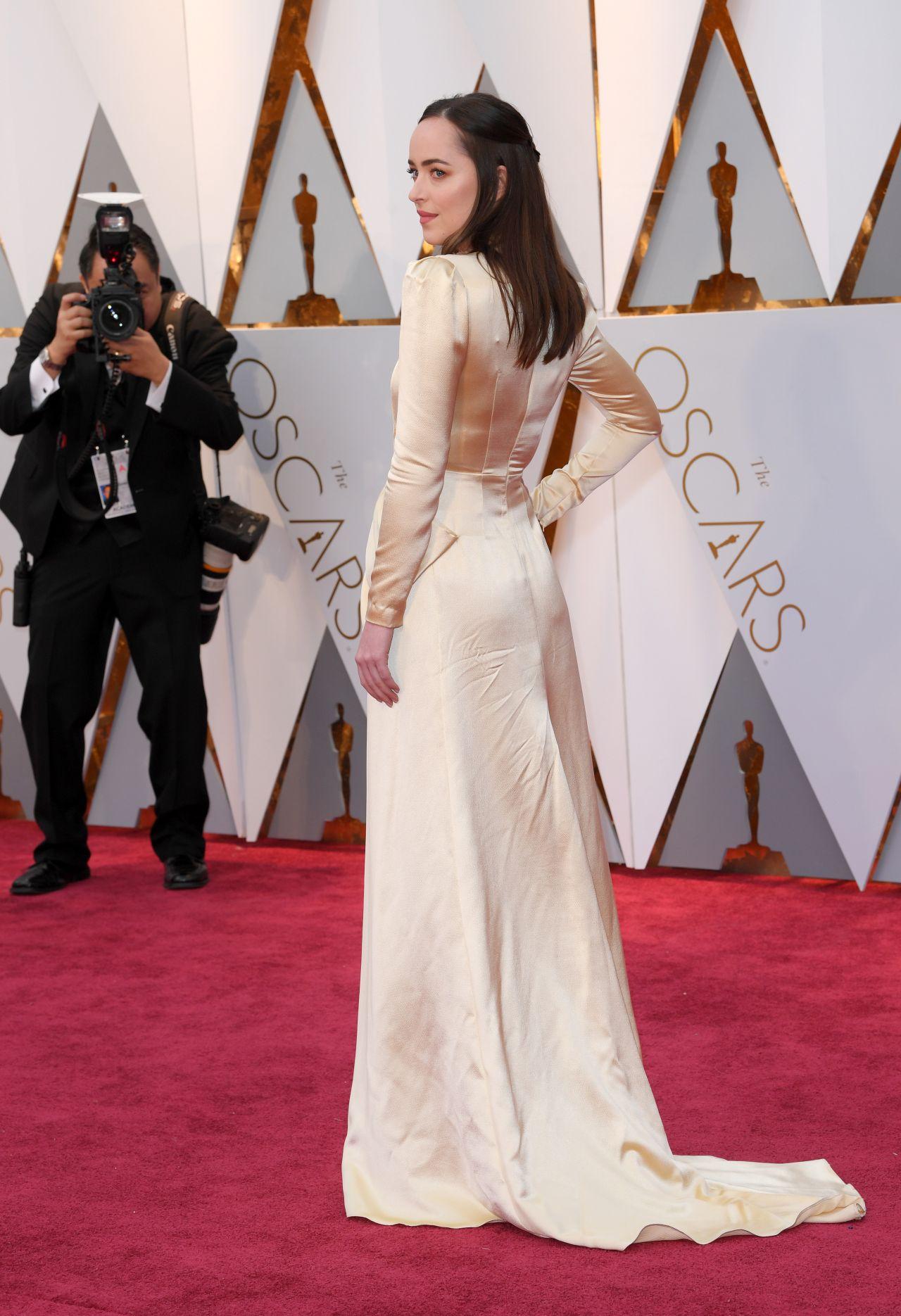 Dakota Johnson  Oscars 2017 Red Carpet in Hollywood