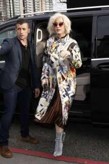 Katy Perry - Christopher Kane Show Arrivals London