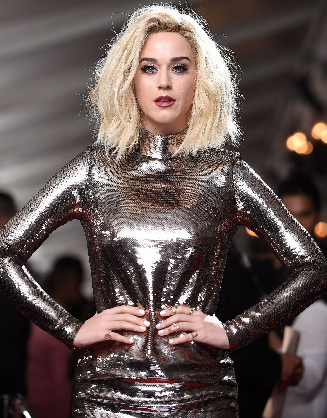 Katy Perry On Red Carpet GRAMMY Awards In Los Angeles 2