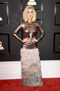Katy Perry on Red Carpet  GRAMMY Awards in Los Angeles 2 ...