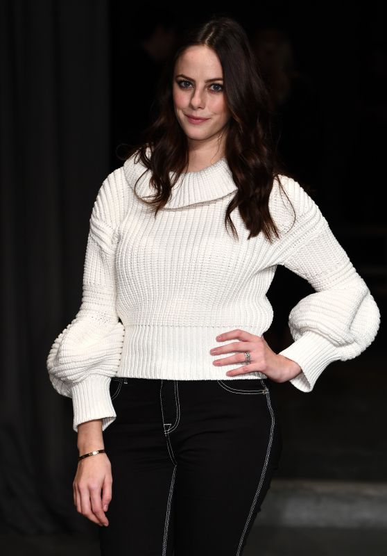 Kaya Scodelario - Burberry Fashion Show in London 2/20/ 2017