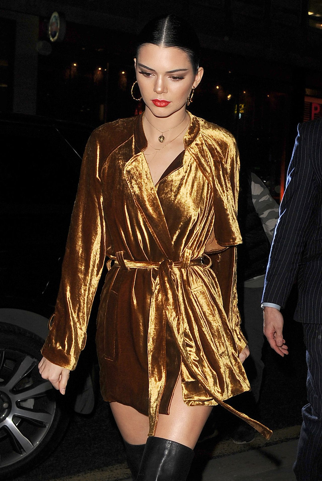 Kendall Jenner Night Out Style  London 220 2017