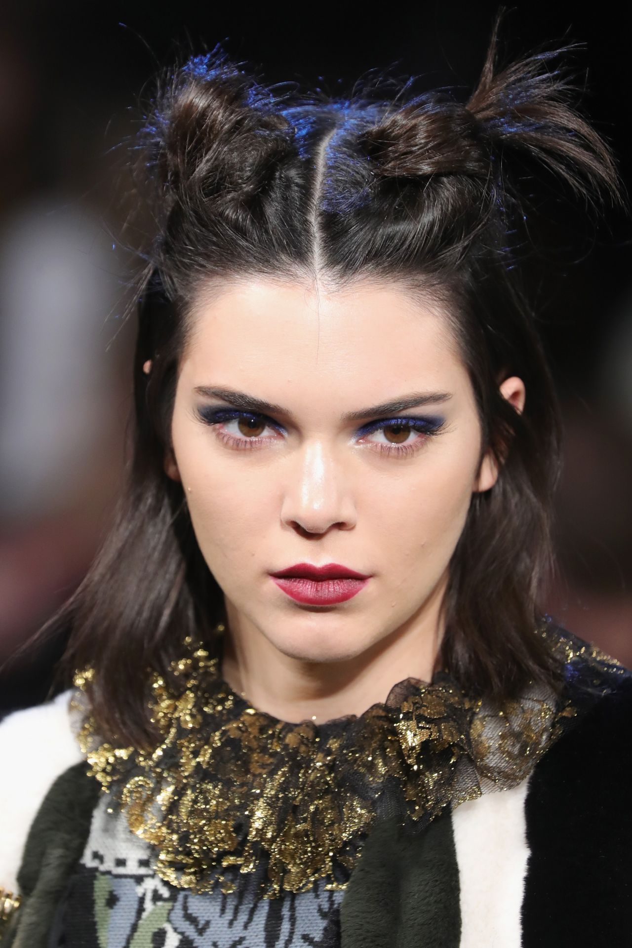 Kendall Jenner Supermodel Runway Walk  Anna Sui Fashion Show in NYC 215 2017