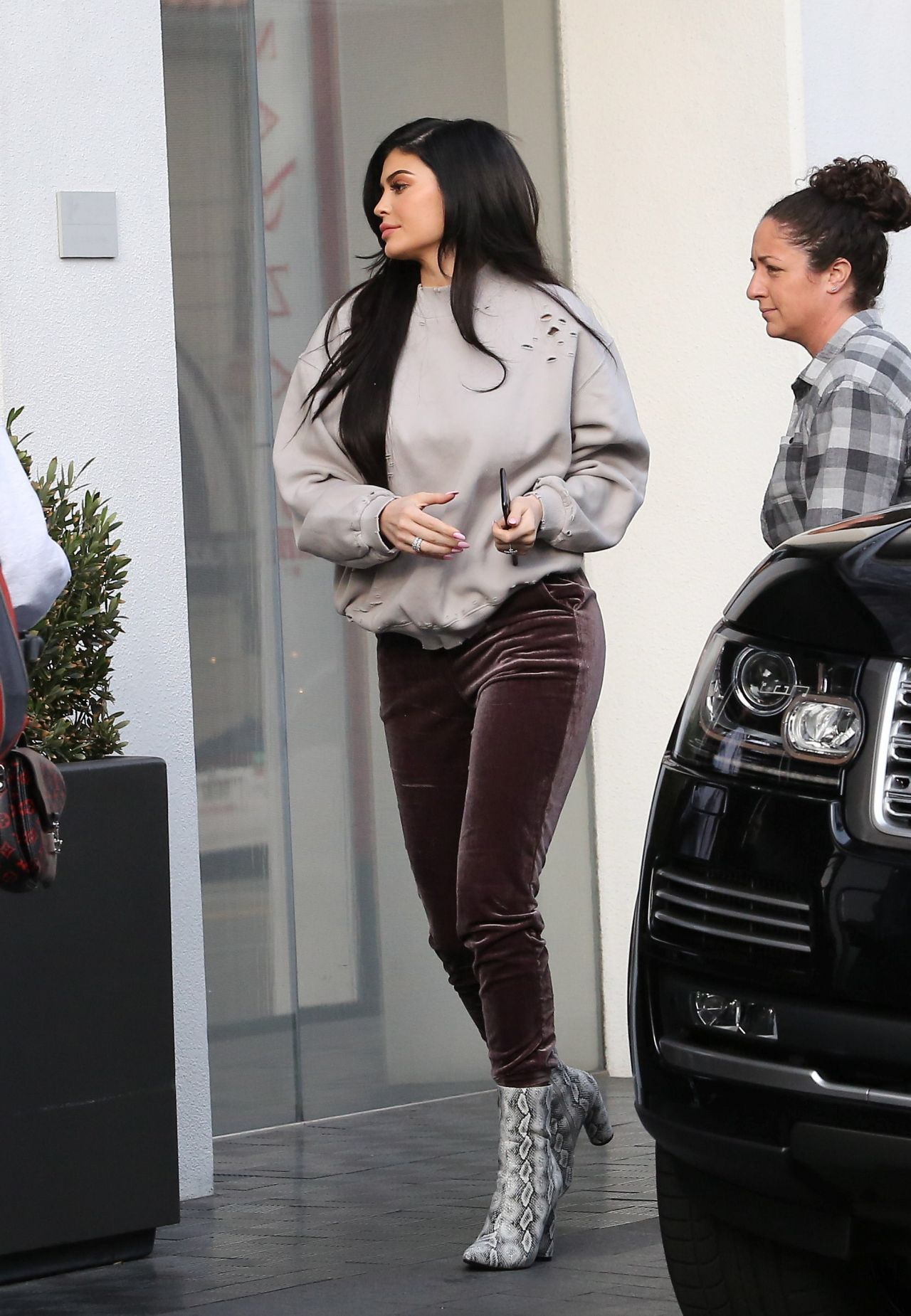 Kylie Jenner  Out in Beverly Hills 21 2017
