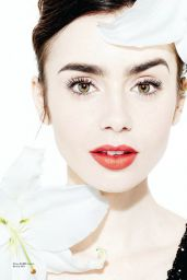 Lily Collins - Angeleno Magazine March 2017