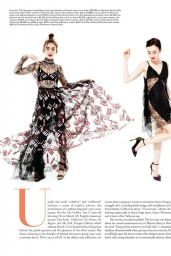 Lily Collins - Angeleno Magazine March 2017