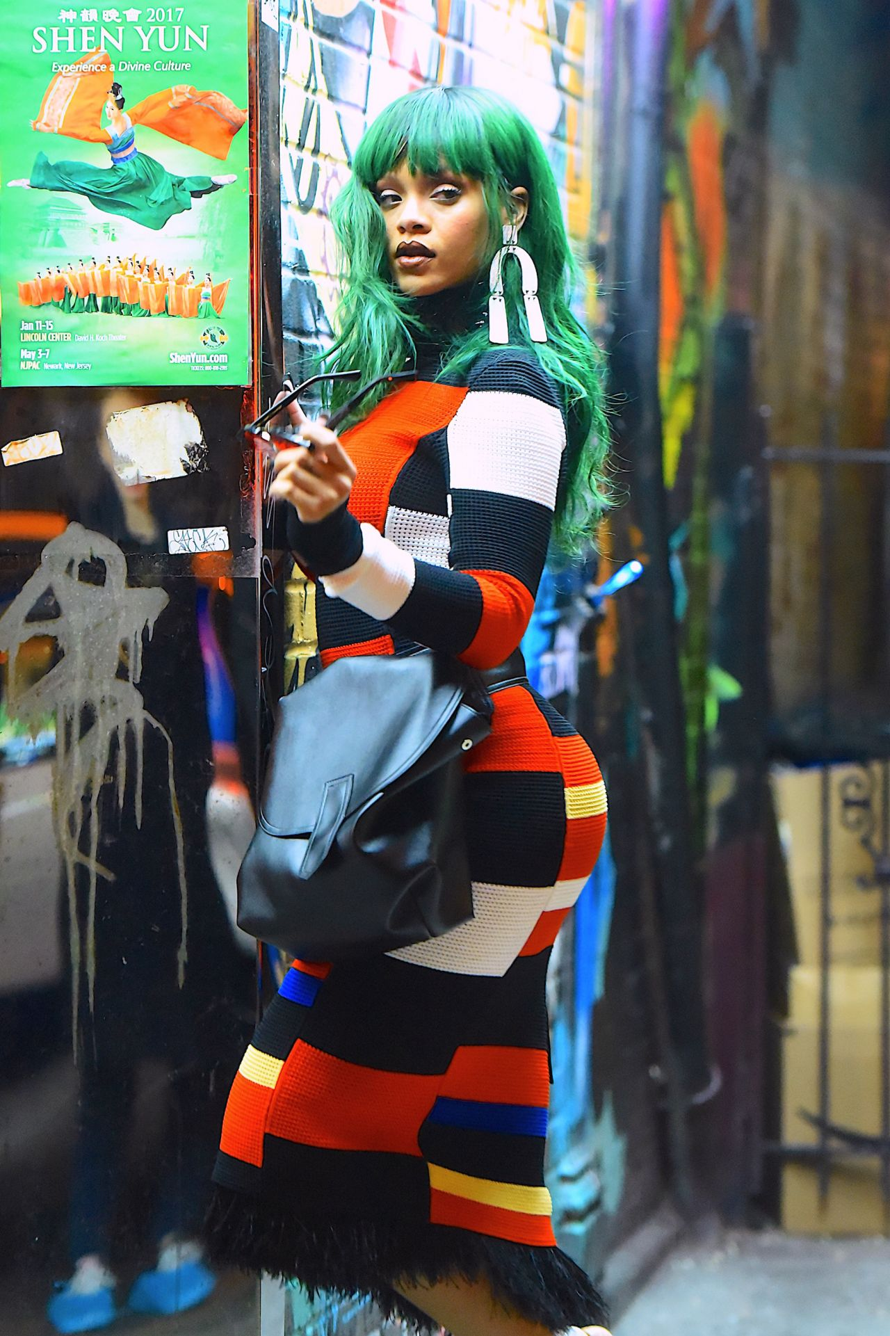 Rihanna  at a Photoshoot in East Village 27 2017