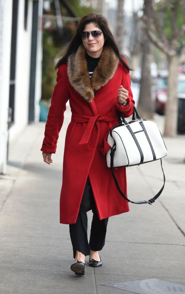 Selma Blair Style - In La February 2017
