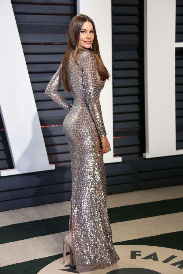 Sofia Vergara Vanity Fair Oscar 2017 Party In Los Angeles