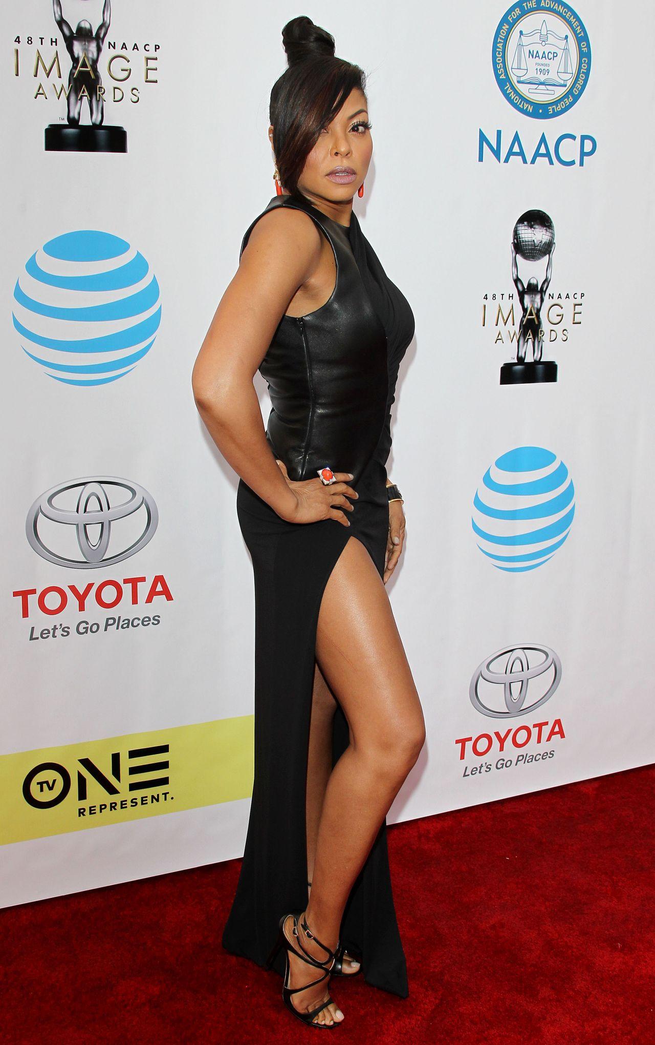 Taraji P Henson At 48th NAACP Image Awards In Los Angeles