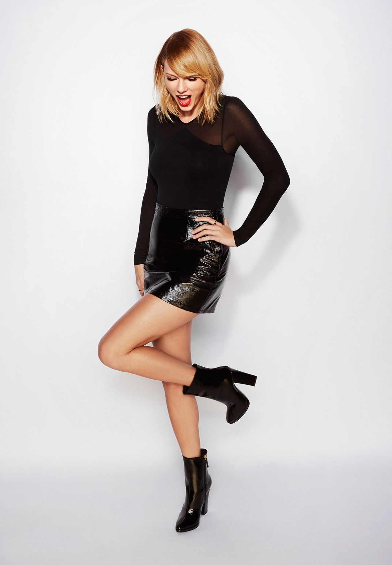 Taylor Swift Taylor Swift NOW December 2016 Photoshoot